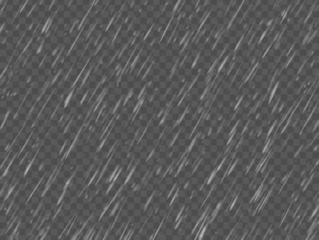 Rain texture. Transparent effect. Abstract vector background EPS10