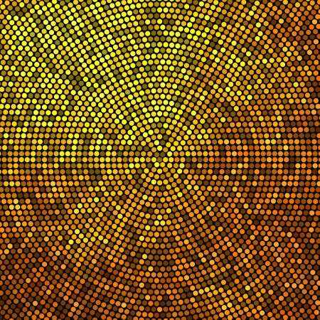 Gold glitter halftone background. Luxury design. Vector illustration EPS10