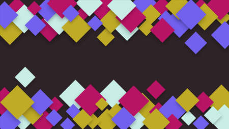 Geometric pattern with squares. Vector background EPS10