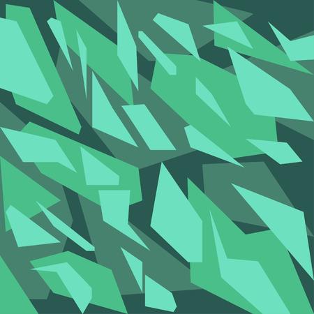 triangle pattern: Geometric camouflage pattern background Illustration