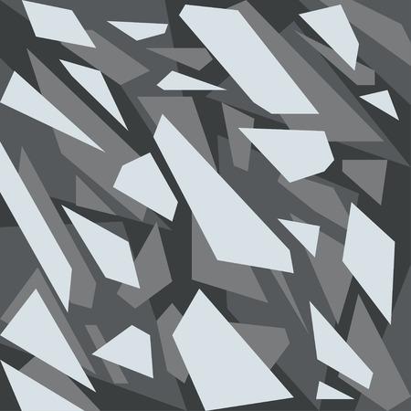Geometric camouflage pattern background Illustration