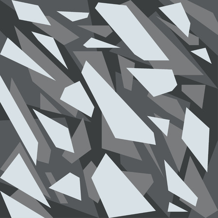Geometric camouflage pattern background Stock Illustratie