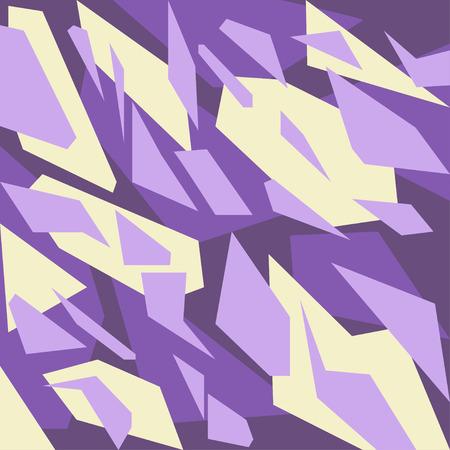 Geometric camouflage pattern background Illusztráció