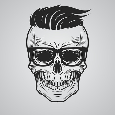 skeleton: Skull illustration