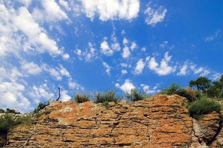 barblock: very nice summer day bulgarian landscape
