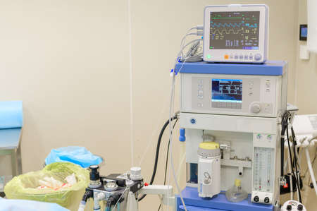 Fat pumping machine for liposuction. Plastic surgery.