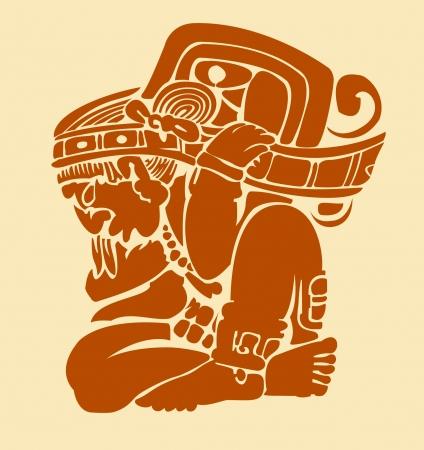 Maya man Stock Vector - 21908378