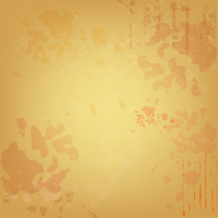 Grunge parchment for old background Vector
