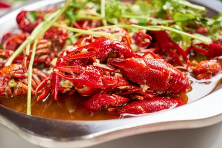 Spicy crayfish Reklamní fotografie