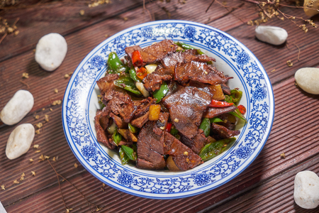 Traditional gourmet - Fried beef with chili