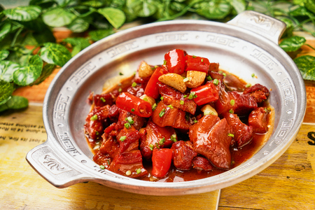 Traditional gourmet braised pork