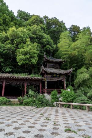 Pavilion in Cihu scenic area 報道画像