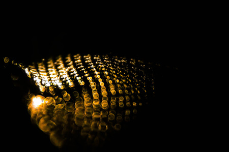 Shining of the universe on the edge of shade. Abstract pattern of light. Reklamní fotografie - 92532342