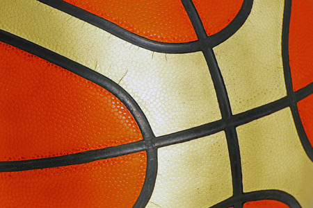 balon baloncesto: Detalle de la estructura de formaci�n de baloncesto.