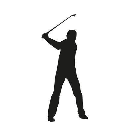 far: Golf Sport Silhouette Illustration