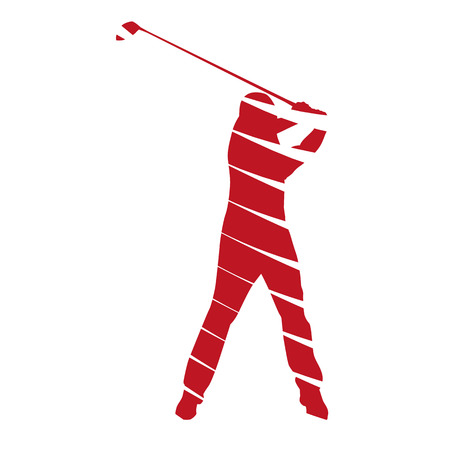 Abstract vector golfer