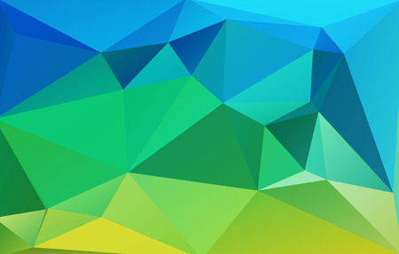 celadon blue: Abstract geometrical vector background Illustration