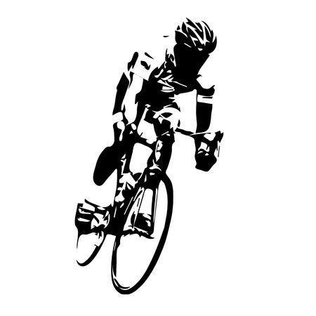 Rowerzysta kolarstwie szosowym