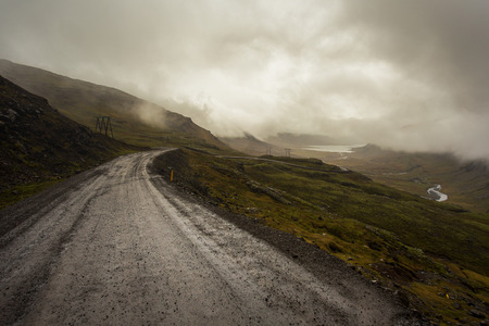 Oxi road, east Iceland