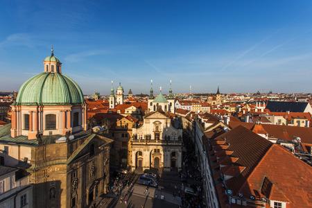 salvator: Prague center, Church of St. Salvator and Church of St. Francis of Assisi, Old Town Prague, Czech republic Stock Photo