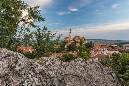 moravia: Castle of Mikulov, South Moravia, Bohemia, Czech Republic