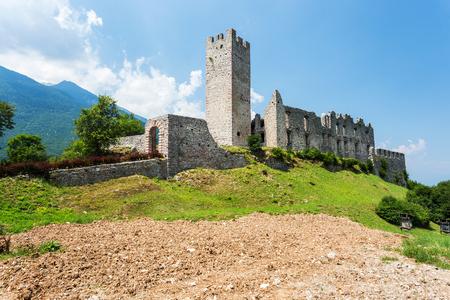 belfort: Castle Belfort in Italy Stock Photo