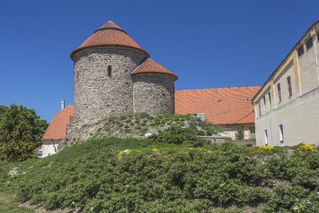 Rotunda of St. Catherine, known as Znojmo Rotunda, Znojmo, Czech Republic.