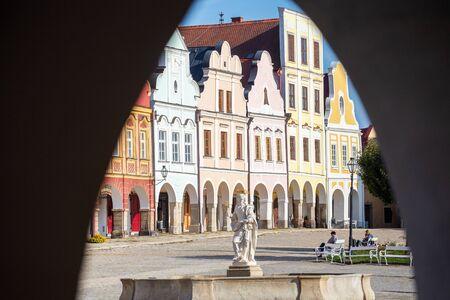 Telc, Czech Republic, famous place, old town square