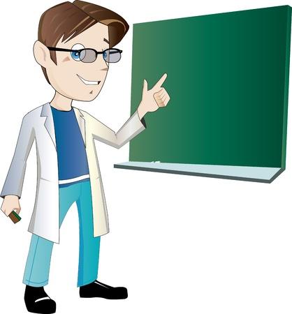 若い男性教師