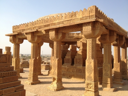 Archeological site in sindh Pakistan