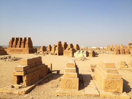 15th century cemetery in asia Sind Pakistan