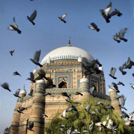 Shrine of a Sufi saint in Multan, Pakistan