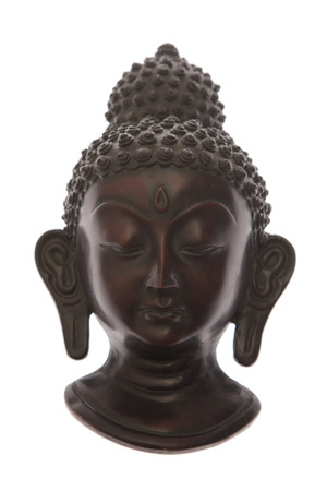 Buddha face statue photo