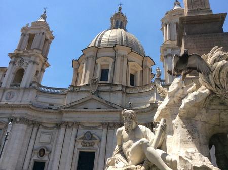 Piazza Noveno Stock Photo