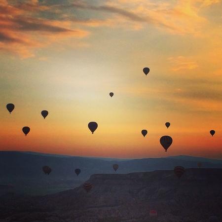 air: Cappadocia hot air balloons