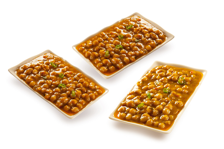 Chickpeas channa cholay indian pakistani dish