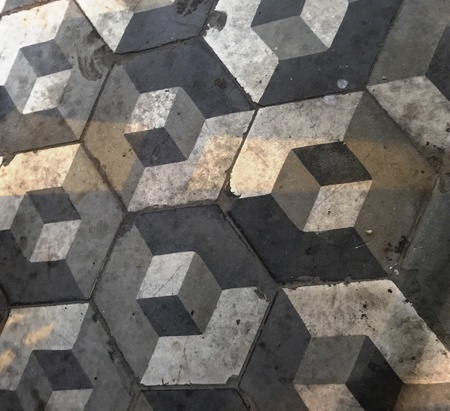 3D illusion pattern design