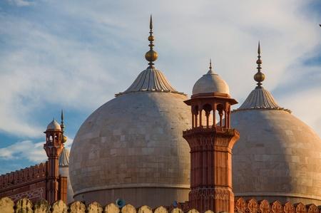 Domes of Badshahi mosque