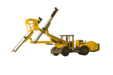 Face drill rigs for mining construction development 스톡 콘텐츠