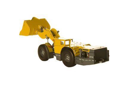 Mining underground electric loader vehicle