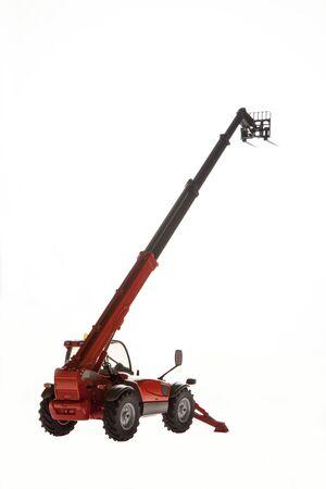Tele handler construction machinery 写真素材 - 132706349
