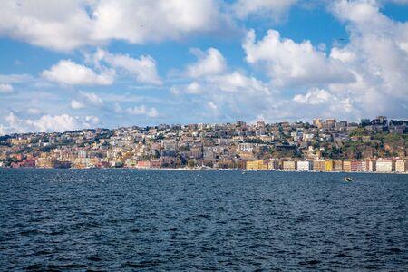 Coast of Naples, Italy 写真素材