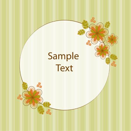Floral Text Box