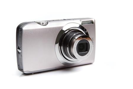 Appareil photo compact num�rique t�l�m�trique photographique de type avec un capteur APS-C Banque d'images