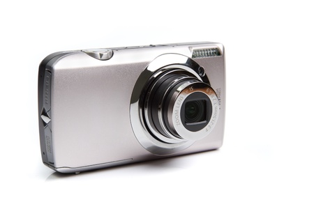 Compact camera digital point-and-shoot rangefinder camera with an APS-C sensor