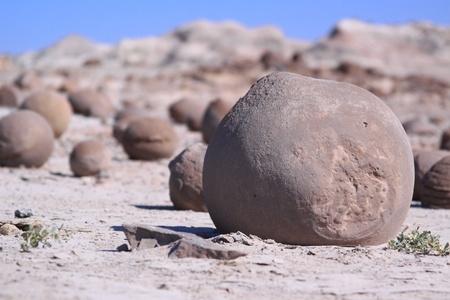 roche dans le Parc National de Ischigualasto, Argentine