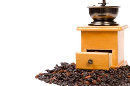 Close-up of an old-fashioned coffee grinder Reklamní fotografie