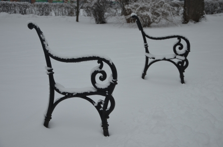 Air seat in winter photo