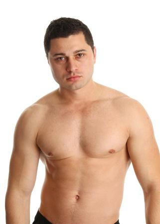 shirtless guy: guy sin camisa Foto de archivo