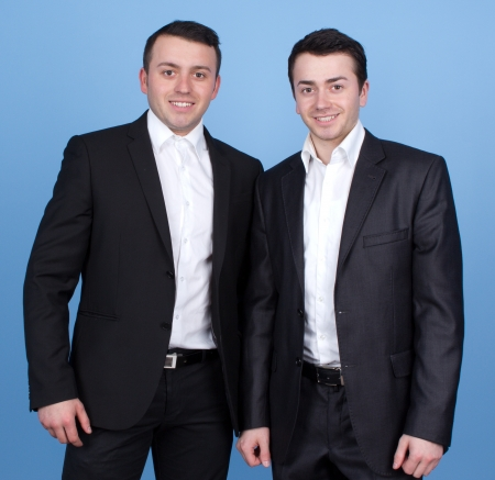 gents: Two gents smartly dressed